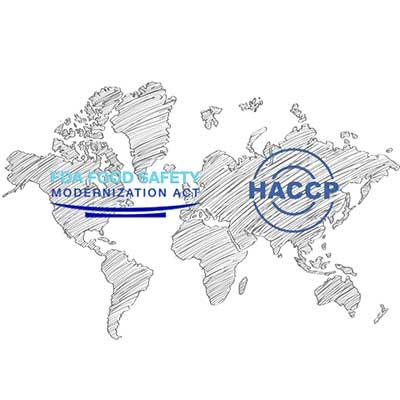 Food Safety System Haccp vs Harpc Sicurezza alimentare americana