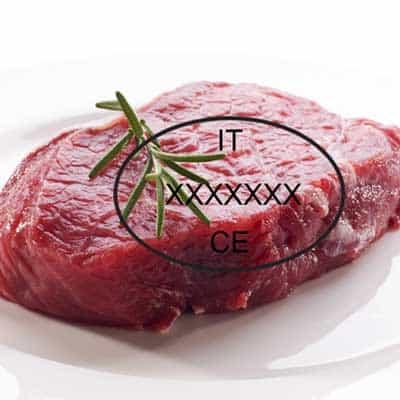 Bollo CE Strutture Riconosciute per gli Alimenti di Origine Animale Reg 853